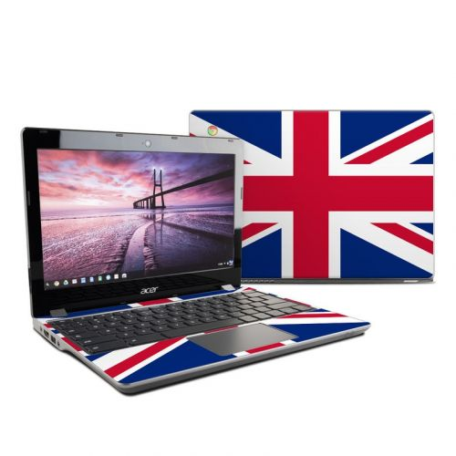 Union Jack Acer Chromebook 11 C740 Skin