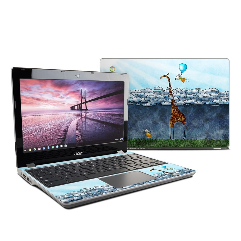 Above The Clouds Acer Chromebook 11 C740 Skin