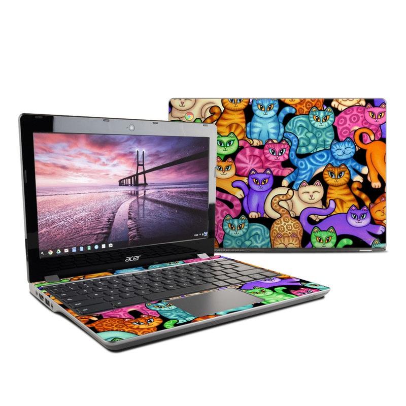 Colorful Kittens Acer Chromebook 11 C740 Skin