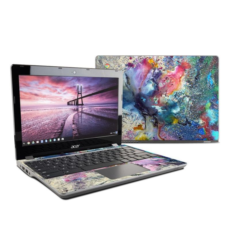 Cosmic Flower Acer Chromebook 11 C740 Skin