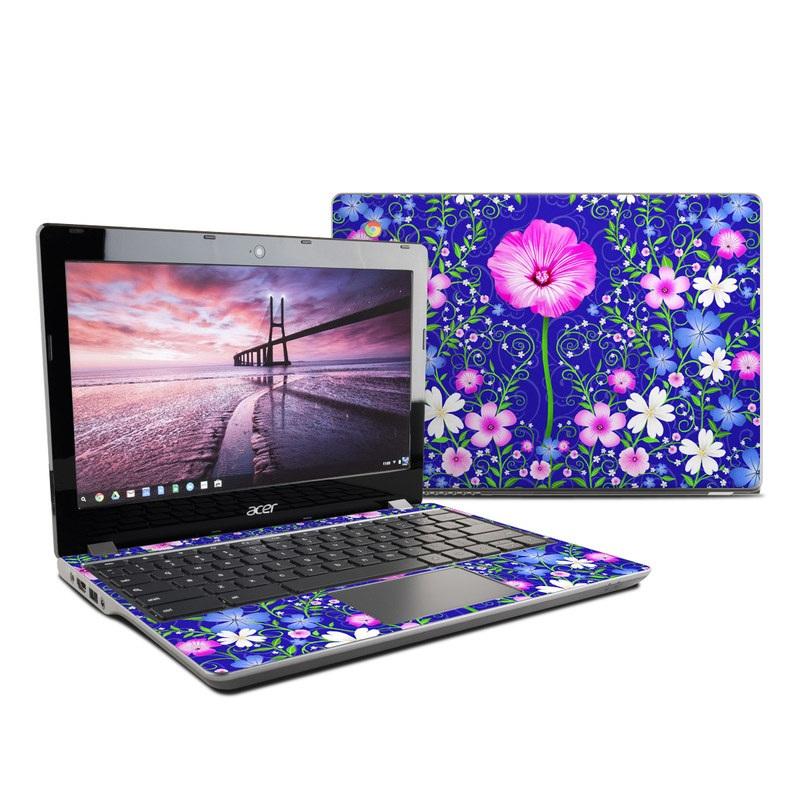 Floral Harmony Acer Chromebook 11 C740 Skin