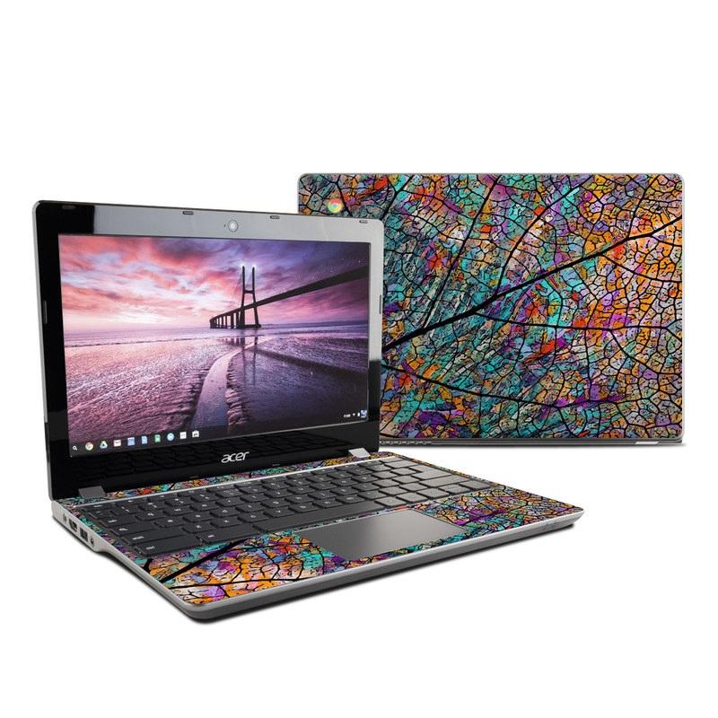 Stained Aspen Acer Chromebook 11 C740 Skin