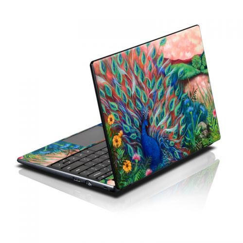 Coral Peacock Acer AC700 Chromebook Skin