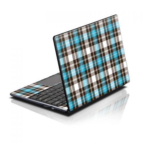 Turquoise Plaid Acer AC700 Chromebook Skin