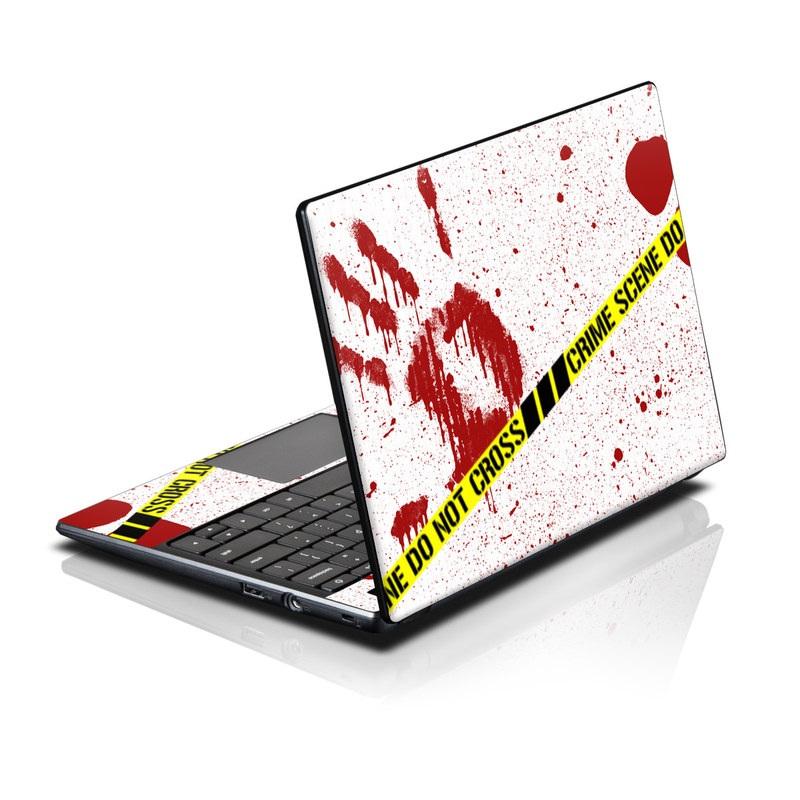 Crime Scene Revisited Acer AC700 Chromebook Skin