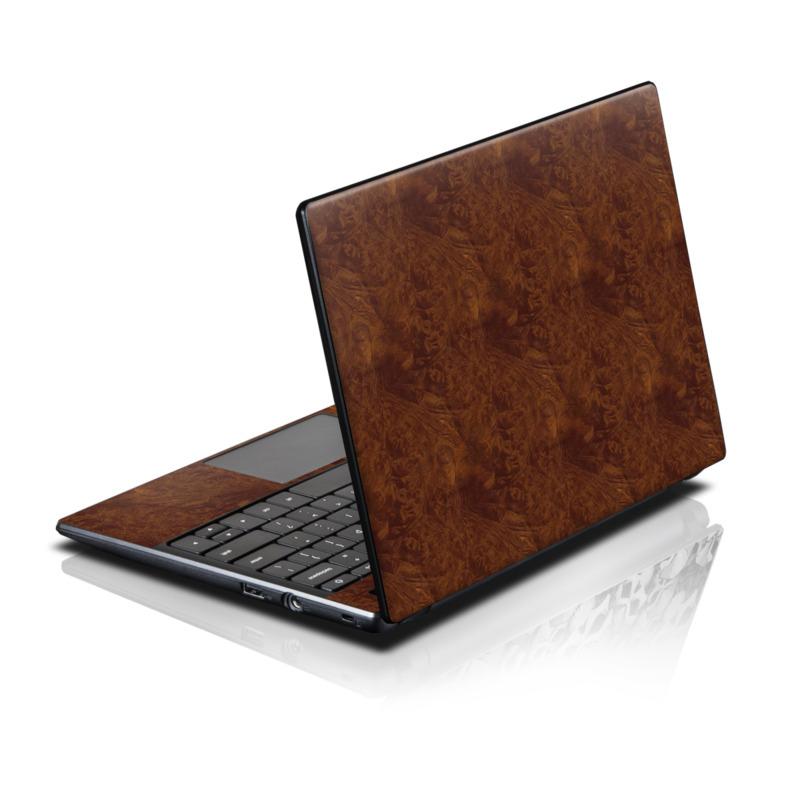 Dark Burlwood Acer AC700 Chromebook Skin