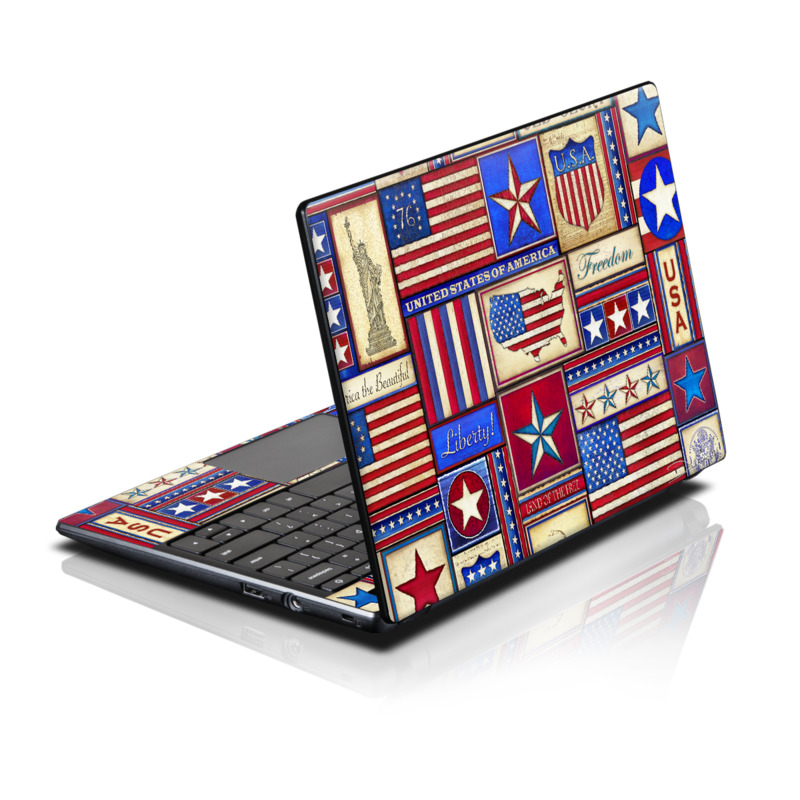 Flag Patchwork Acer AC700 Chromebook Skin