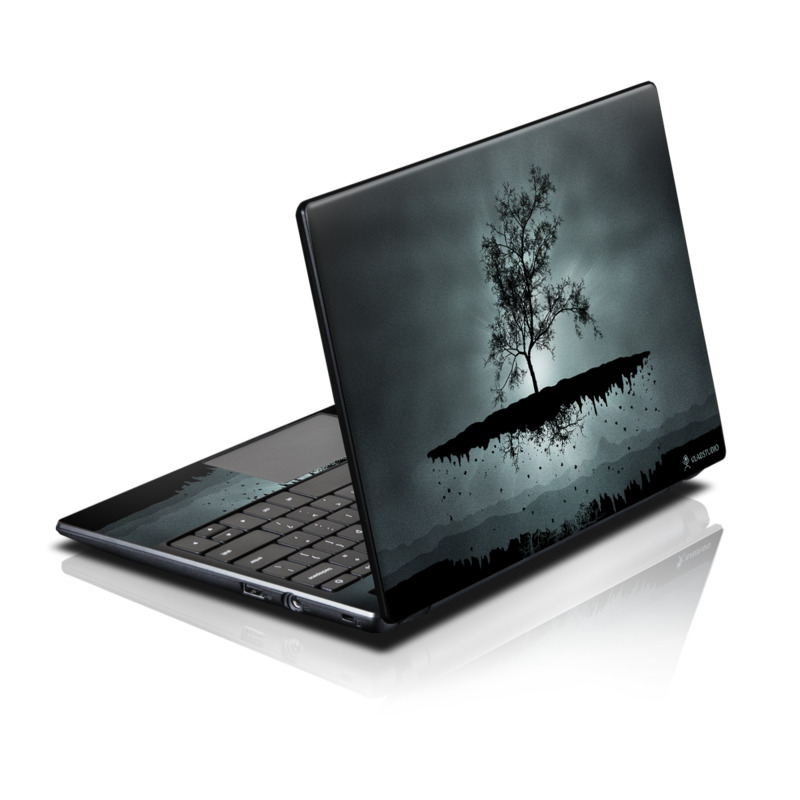 Flying Tree Black Acer AC700 Chromebook Skin