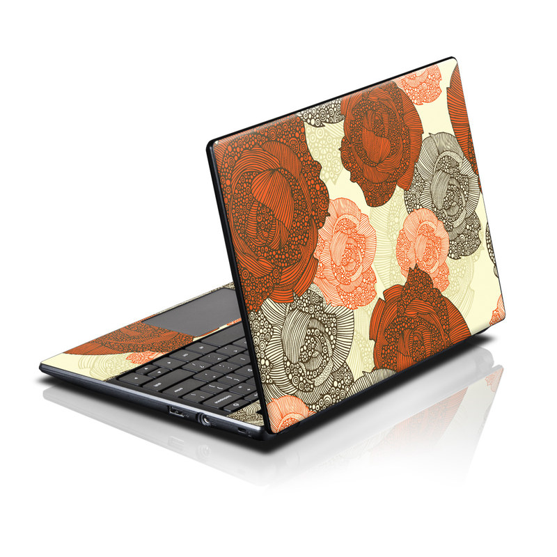 Acer AC700 Chromebook Skin design of Pattern, Orange, Illustration, Design, Currency, Paper, Line, Circle, Textile, Money with red, gray, pink, yellow, green, orange colors