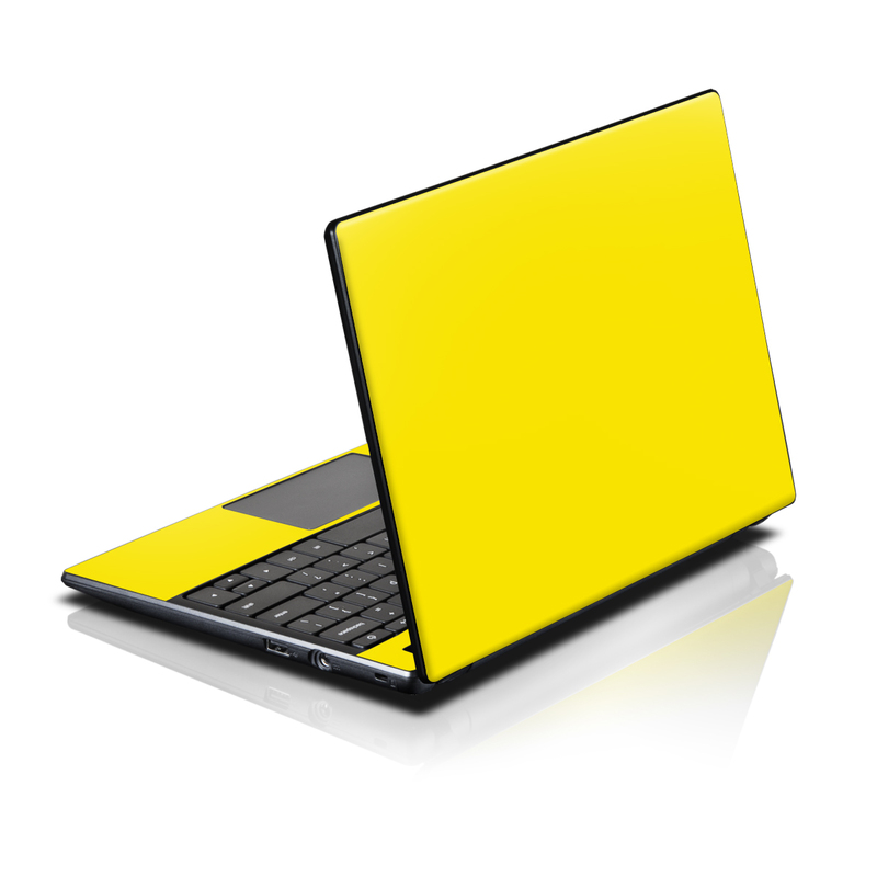 Solid State Yellow Acer AC700 Chromebook Skin