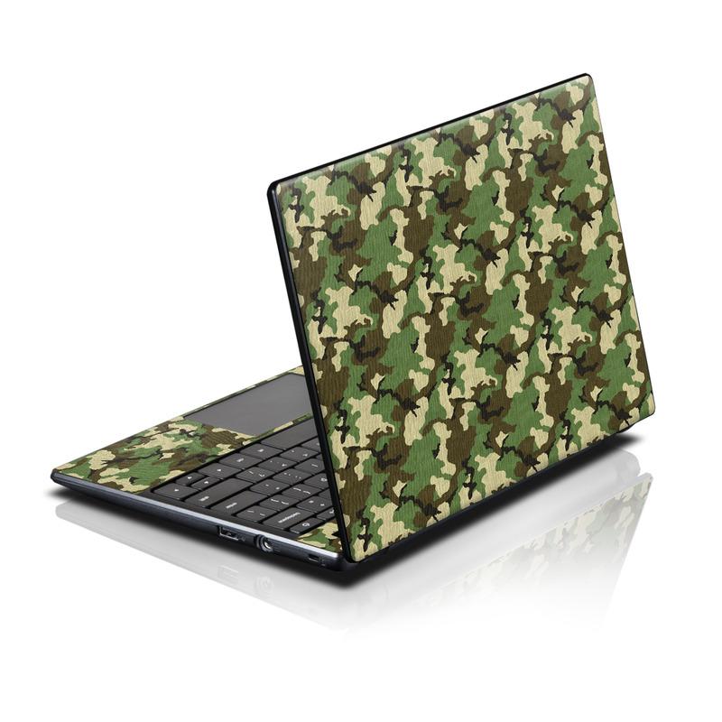 Woodland Camo Acer AC700 Chromebook Skin