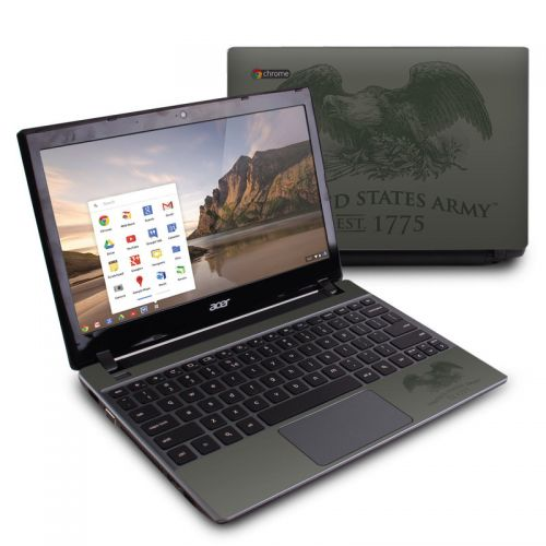 Army Crest Acer C7 Chromebook Skin