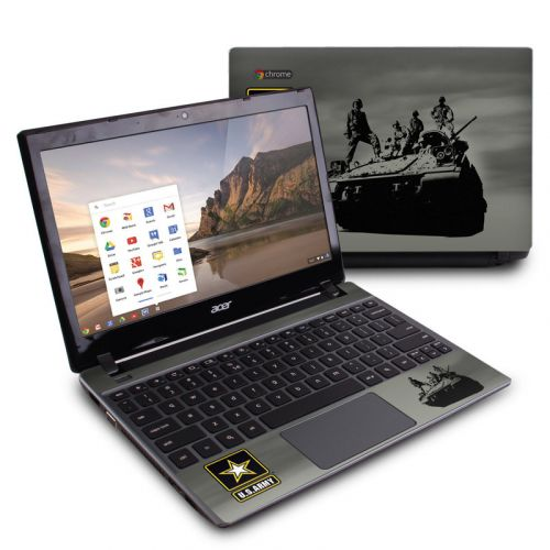 Army Troop Acer C7 Chromebook Skin