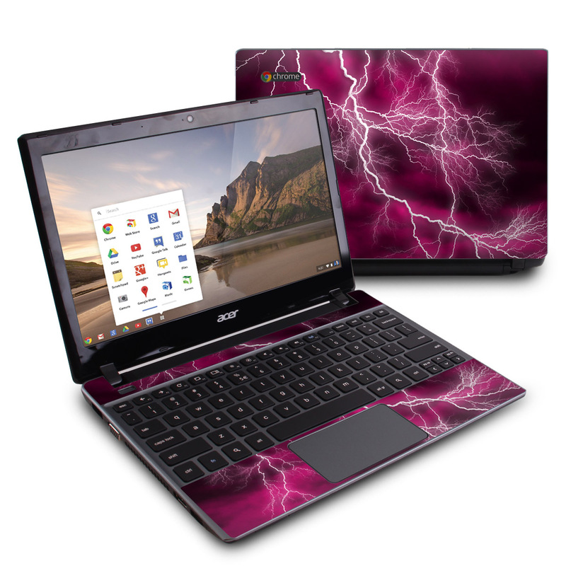 Apocalypse Pink Acer C7 Chromebook Skin