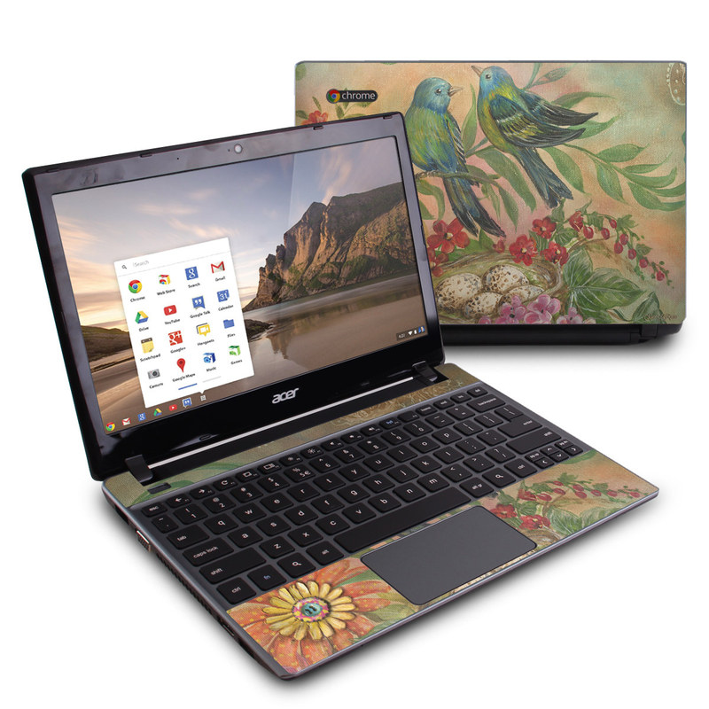Splendid Botanical Acer C7 Chromebook Skin