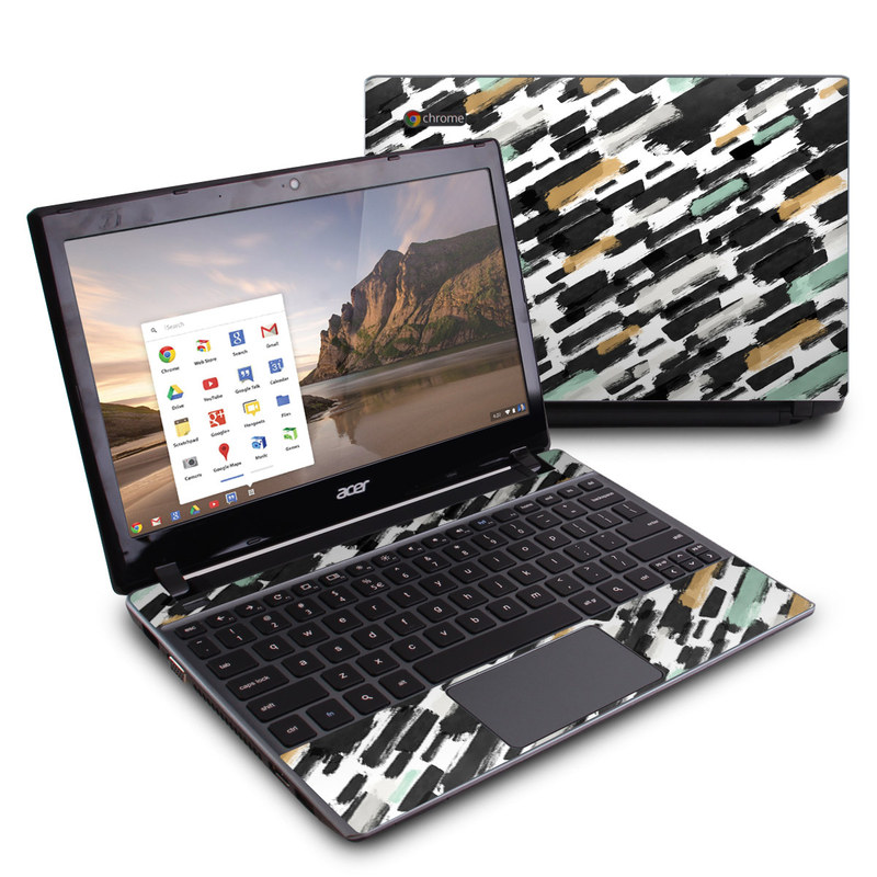 Brushin Up Acer C7 Chromebook Skin