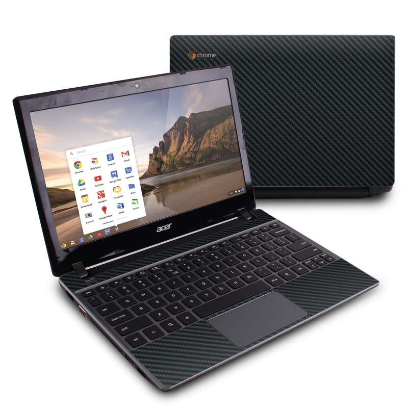 Carbon Fiber Acer C7 Chromebook Skin
