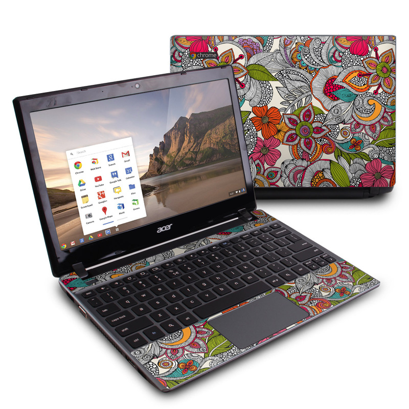 Doodles Color Acer C7 Chromebook Skin