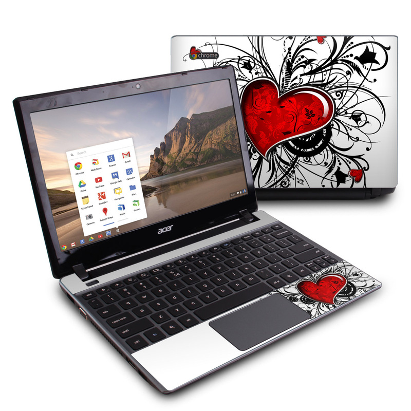 My Heart Acer C7 Chromebook Skin