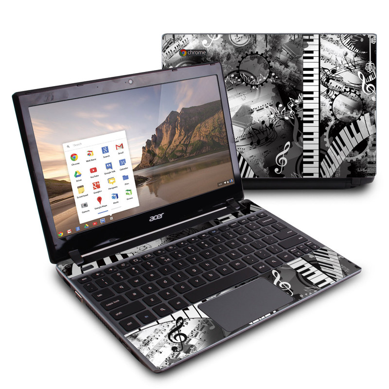 Piano Pizazz Acer C7 Chromebook Skin