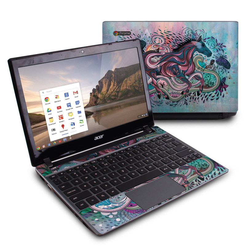 Poetry in Motion Acer C7 Chromebook Skin