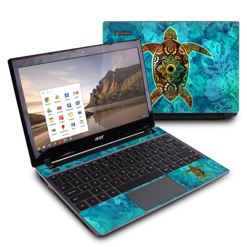 Sacred Honu Acer C7 Chromebook Skin