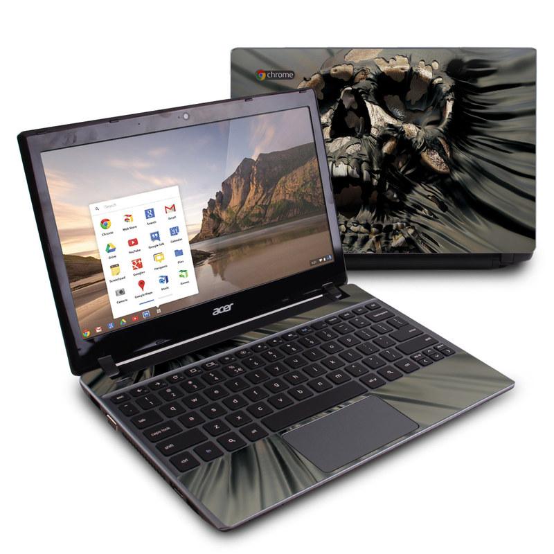 Skull Wrap Acer C7 Chromebook Skin