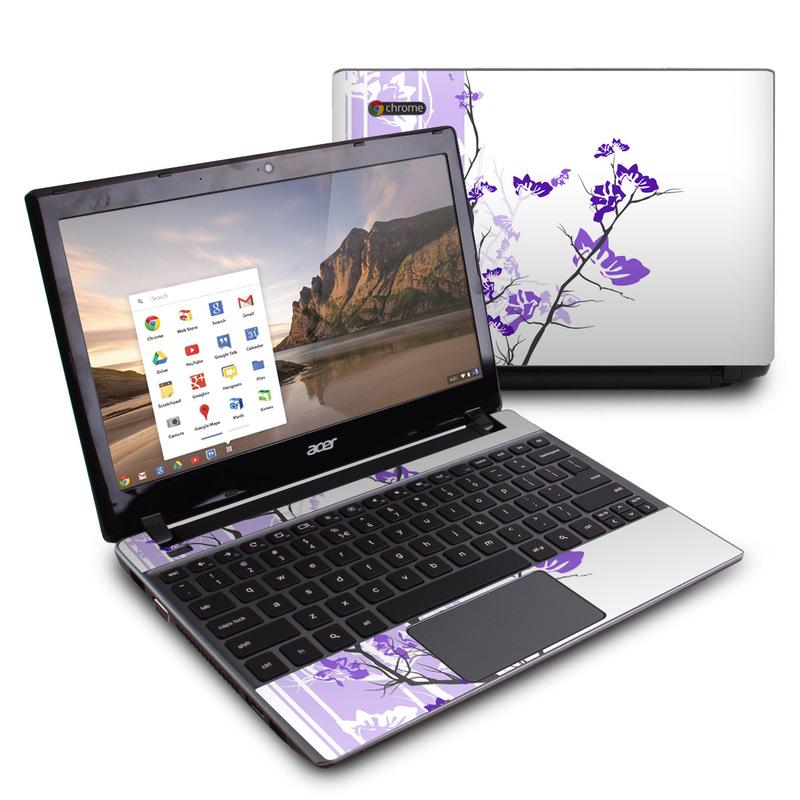 Violet Tranquility Acer C7 Chromebook Skin