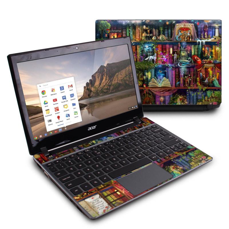 Treasure Hunt Acer C7 Chromebook Skin