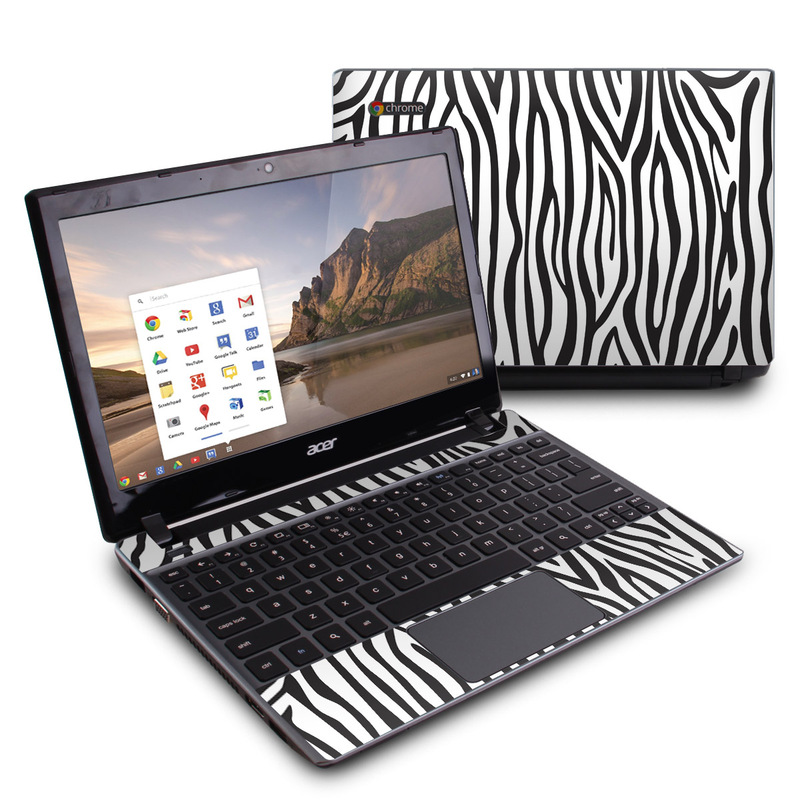 Zebra Stripes Acer C7 Chromebook Skin