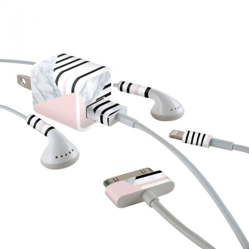 Alluring iPhone Earphone, Power Adapter, Cable Skin