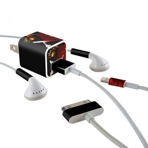 Autumn iPhone Earphone, Power Adapter, Cable Skin