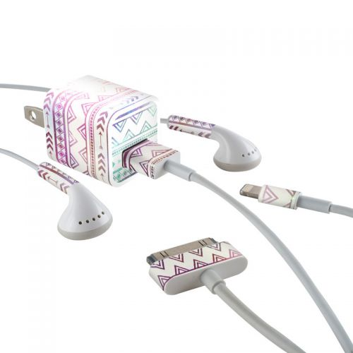 Bohemian iPhone Earphone, Power Adapter, Cable Skin