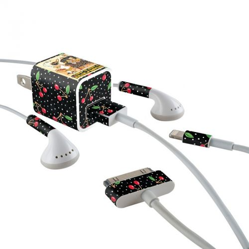 Chair of Bowlies iPhone Earphone, Power Adapter, Cable Skin
