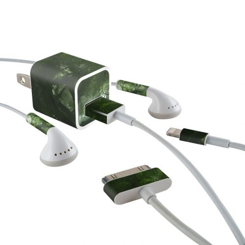 Canopy Creek Spring iPhone Earphone, Power Adapter, Cable Skin