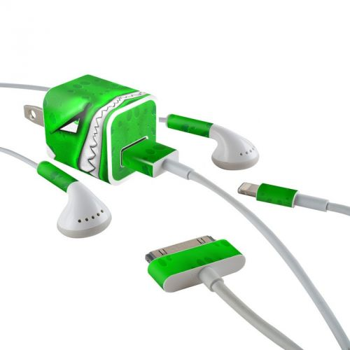 Chunky iPhone Earphone, Power Adapter, Cable Skin