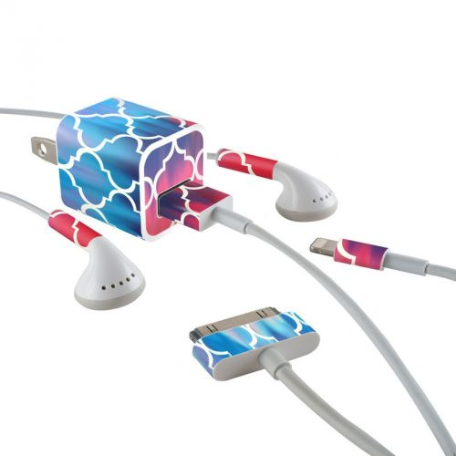 Daze iPhone Earphone, Power Adapter, Cable Skin