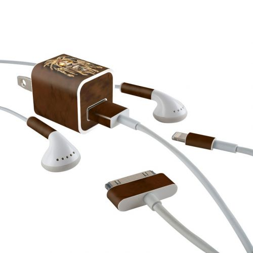 DJ Jahman iPhone Earphone, Power Adapter, Cable Skin