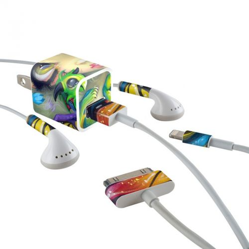 Dragonling iPhone Earphone, Power Adapter, Cable Skin