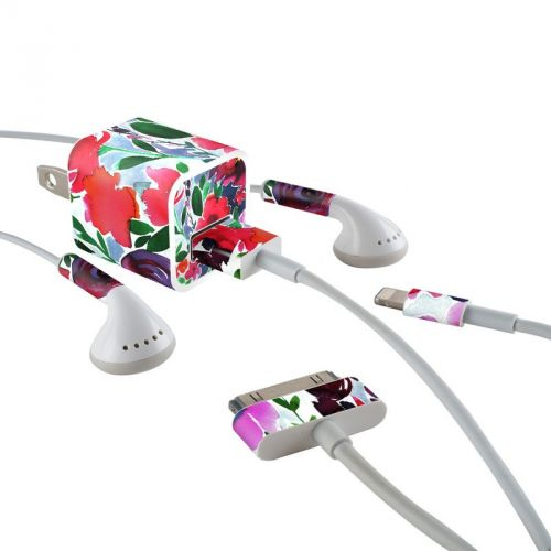 Evie iPhone Earphone, Power Adapter, Cable Skin