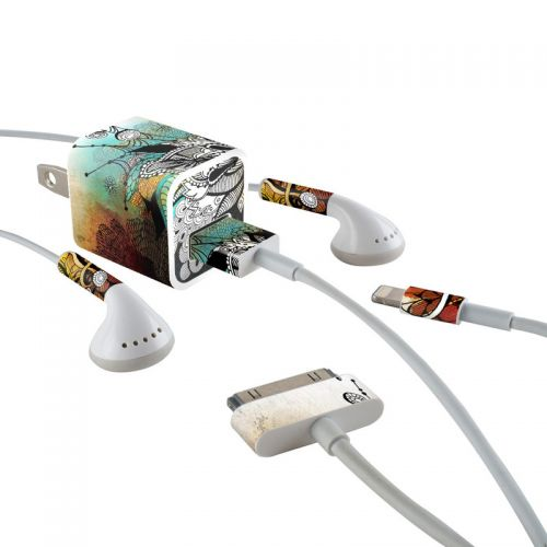 Frozen Dreams iPhone Earphone, Power Adapter, Cable Skin