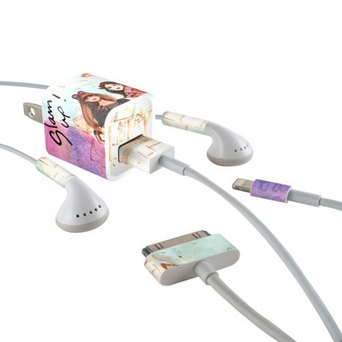Gallaria iPhone Earphone, Power Adapter, Cable Skin