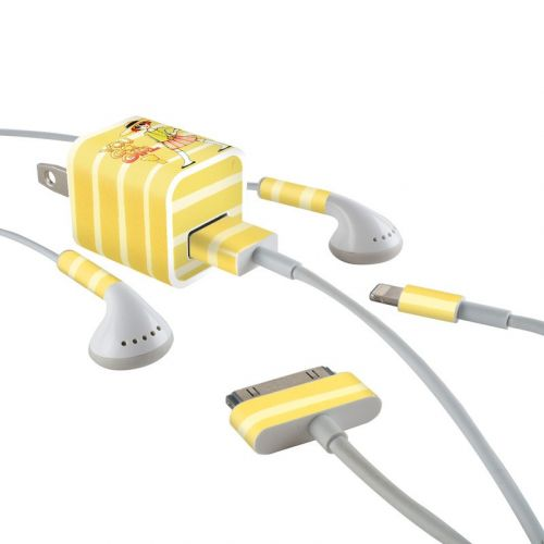 You Go Girl iPhone Earphone, Power Adapter, Cable Skin