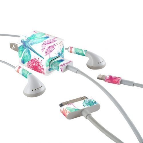 Gossamer iPhone Earphone, Power Adapter, Cable Skin