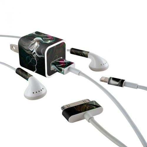 Graffstract iPhone Earphone, Power Adapter, Cable Skin