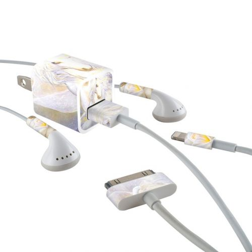 Heart Of Unicorn iPhone Earphone, Power Adapter, Cable Skin