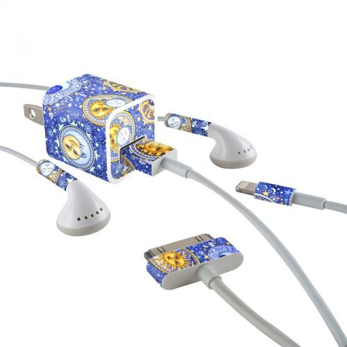 Heavenly iPhone Earphone, Power Adapter, Cable Skin