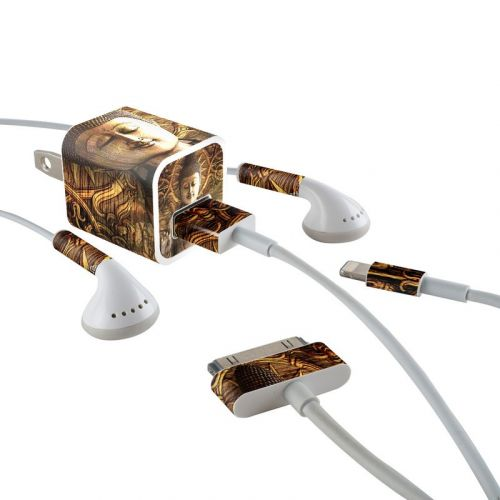 Intentional Bliss iPhone Earphone, Power Adapter, Cable Skin