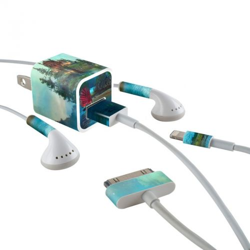 Journey's End iPhone Earphone, Power Adapter, Cable Skin