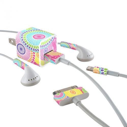 Kyoto Springtime iPhone Earphone, Power Adapter, Cable Skin